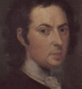 JohnSmibert self portrait BermudaGroup detail Yale