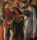 Botticelli magi detail