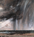 Constable Seascape Study with Rain Cloud