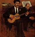 Edgar Degas Lorenzo Pagans et Auguste de Gas