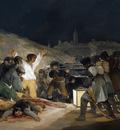 francisco de goya y lucientes los fusilamientos del tres de mayo