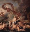 francois boucher venus triumf 1740 detail