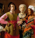 Georges de La Tour The Fortune Teller