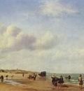 Het Strand van Scheveningen Adriaen van de Velde 1658