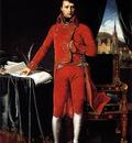 Jean Auguste Dominique Ingres Portrait de Napoleon Bonaparte en premier consul