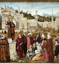 La Predication de saint Etienne a Jerusalem de Carpaccio
