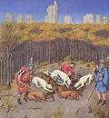 Labors of the months in Tres Riches Heures du Duc de Berry December