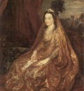 lady shirley by anthony van dyck c