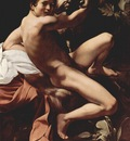 Michelangelo Merisi da Caravaggio Saint John the Baptist Youth with a Ram c  1602 Yorck Project