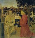 Piero San Girolamo e il donatore Girolamo Amadi venezia accademia 1440 50 49x42