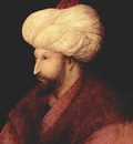 Portrait of Mehmed II by Gentile Bellini Cropped