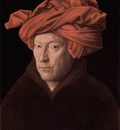 Portrait of a Man in a Turban Jan van Eyck