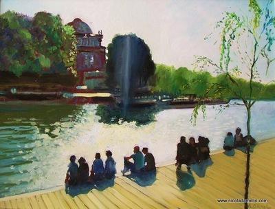 Paris, on the Seine