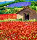 """Jean-Marc JANIACZYK """"Poppy field"""""""