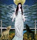 Goddess Art Moon Goddess