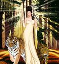 Goddess Art Strength Goddess