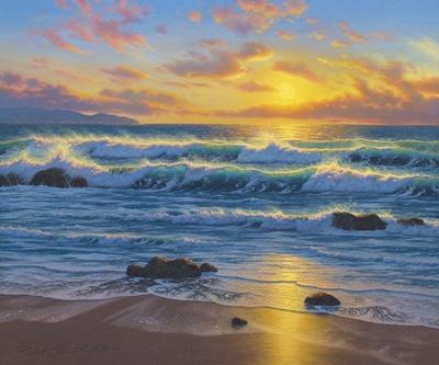 rhythms of the sea 60 x