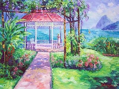St  Lucia Garden