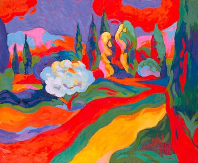 Chemin de Terre en Provence