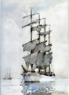 h  s  tuke four masted barque