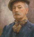 Tuke, Henry Scott 1858–1929   1920   Self portrait