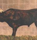 Corente Bull Original Art RA47