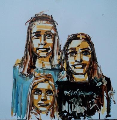 15 Minute Portrait Painting