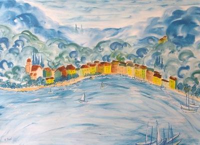 Bay in Liguria
