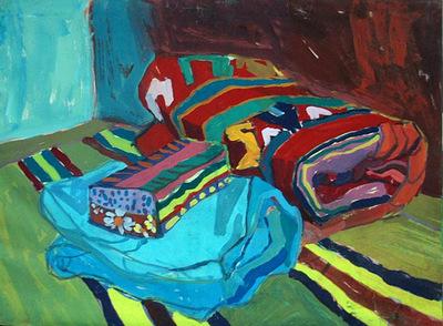 Brocade blanket