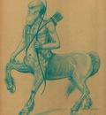 Paul Gosselin   Centaur Chiron the Wise