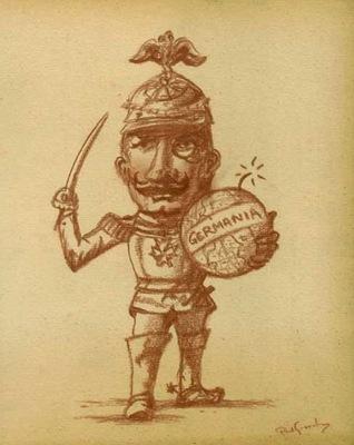 Paul Gosselin Kaiser Wilhelm II