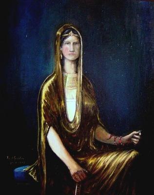 Paul Gosselin  Berenice IV Cleopatra Epiphanea   Orientalism