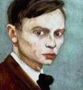 Jan Mankes Self portrait