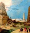 Hendrick van Cleve  1525-1589  -   The Tower of Babel