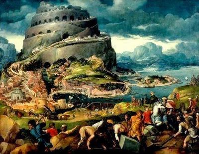 Maarten van Heemskerk  1498-1574  -  The Tower of Babel