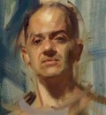David Shevlino  Self portrait