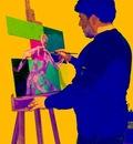 Marcello Merlino  Self portrait