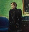 Paul Gosselin - Portrait of Princess Mathilde d'Udekem d'Acoz
