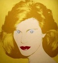 Andy Warhol  1928 - 1987 Self portrait - Popart