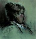 Paul Gosselin - The Jealous - Impressionism