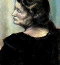 Paul Gosselin - Portrait of Nancy Bécuwe