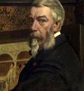 Henri Leys  - Self portrait