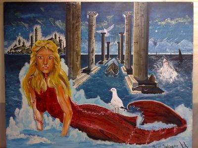 siren , deniz kizi  arteism murat sahingoz