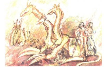 fantasy warrios of the dragonland