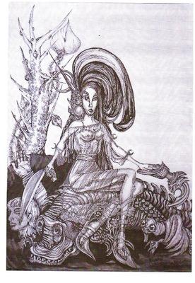 fantasy princess from Vega