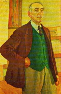 Theo van Rysselberghe - Self portrait