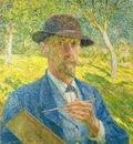 Emile Claus - Self portrait