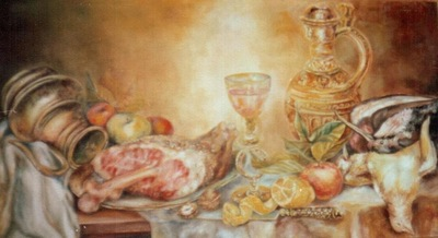 the golden still life