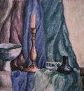 the still life in blue