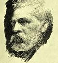 Adrien De Witte - Self portrait